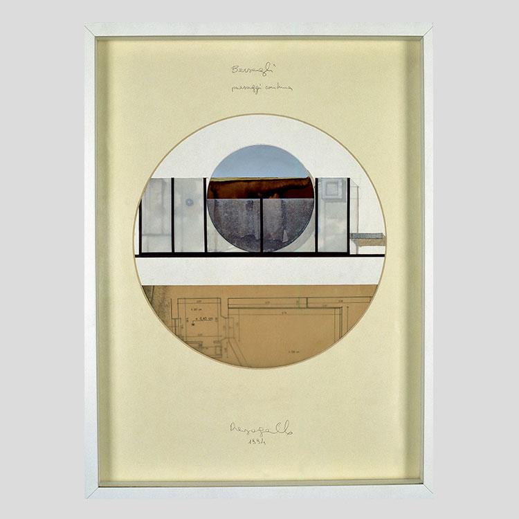 Bersagli, project for Paesaggio con luna