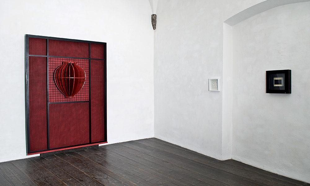 Mostra personale Renzogallo, 2011   Palazzo Chigi, Viterbo   Veduta dell'istallazione